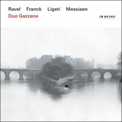 Ravel, Franck, Messiaen, Ligeti