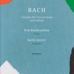 J.S. Bach: 3 Sonaten Fur Viola Da Gamba U Cembalo