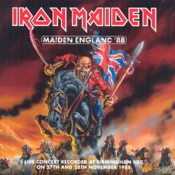 Maiden England `88
