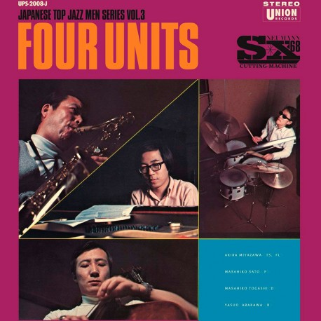 Four Units - Japanese Jazz Men Series Vol. 3