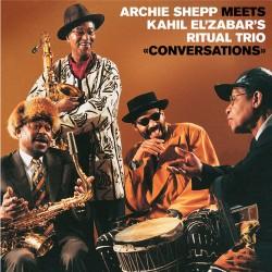 Meets Kahil El'Zabar's Ritual Trio: Conversations