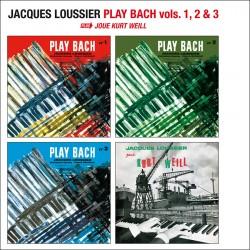 Play Bach Vol. 1, 2 and 3 + Joue Kurt Weill - 4Lp