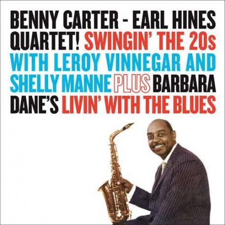 Earl Hines Quartet : Swingin` the 20S