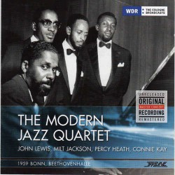 The Modern Jazz Quartet, Bonn 1959
