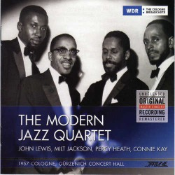 The Modern Jazz Quartet Nov 6Th, 1957