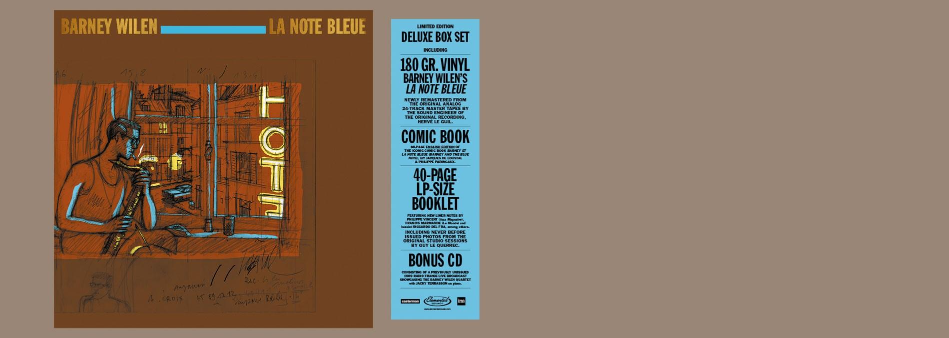 BARNEY WILEN LA NOTE BLEUE - LIMITED EDITION BOX SET