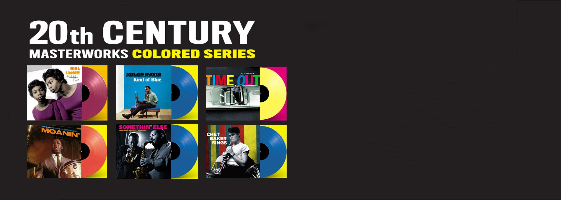 20TH CENTURY MASTERWORKS COLORED SERIES